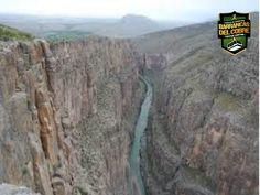 BARRANCAS DEL COBRE te dice.  la barranca de Pegüis cuenta con con unas dimensiones, aproximadamente de 16 km de largo por 350 m de profundidad en su parte más honda, al fondo de la misma corre el rio conchos y ésta barranca debe su nombre a un pájaro de nombre Pegüis que se ven en la zona. www.chihuahua.gob.mx/turismoweb