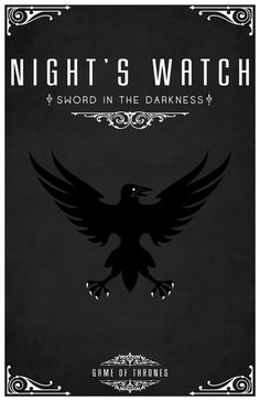 A Song of Ice and Fire - The Night's Watch (by LiquidSoulDesign)
