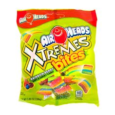 Air Heads Xtremes Rainbow Berry Bites | Claire's Fini Tubes, Chocolate Candy Brands, Airheads Candy, Sour Candy, Soup Kitchen, Pokemon, Disney Frozen Elsa, Favorite Candy, Baking Supplies