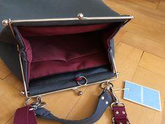 "Tasche ""flaniert""L aus Vintagematerial Rebecca Minkoff Mac, Lisa, Vintage, Bags, Fashion, Handbags, Moda, Fashion Styles, Vintage Comics"