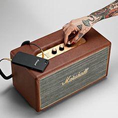 Stanmore Speaker by Marshall Headphones   MONOQI #bestofdesign