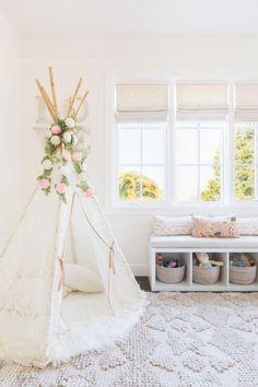 Light and airy nursery design