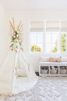 Light and airy nursery design