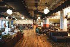 An Inside Look at WeWork's Coworking Space in Austin - Officelovin'