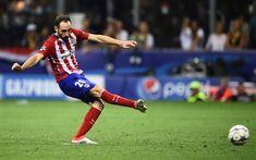 Download wallpapers Juanfran, 4k, Atletico Madrid, footballers, Juan Torres, La Liga, Spain, football, soccer