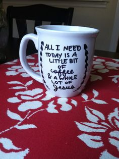 prissy ideas his and her coffee mugs. Coffee Mug with Quote Sharpie Bridesmaid quote mug  Super easy to do and dishwasher safe
