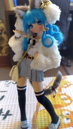 埋 め 込 み Ella necesita ser un personaje de anime jajaja - Custom dolls - Anime W, Anime Kawaii, Anime Chibi, Anime Girls, Poses Manga, Anime Poses, Pretty Dolls, Beautiful Dolls, Oc Manga