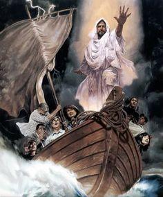 Little Talks with Jesus: Jesus calmed the storm (Matthew 8:23-27)