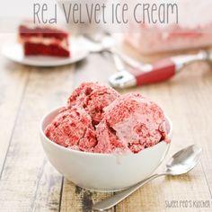 Red Velvet Ice Cream + Catching Fireflies Giveaway