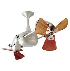 Few designs can match the timeless and sophisticated aesthetic of the Duplo-Dinamico rotational ceiling fan. Other manufacturers have tried to reproduce this unique design, though all have proven to be of lesser quality and durability. The motor heads can be infinitely positioned in 180-degree arcs for optimum air movement; the greater the angles of the motors to the horizontal support rods (up or down), the faster the axial rotation. A slow, controlled axial rotation is achieved by both…
