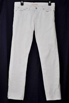 FLYING MONKEY Women's Jeans Skinny Stretch Cream Five Pockets size 9 #FlyingMonkey #BootCut