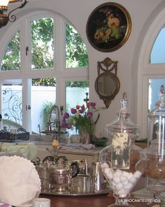 French Country kitchen | la Brocanteuse   ᘡղbᘠ