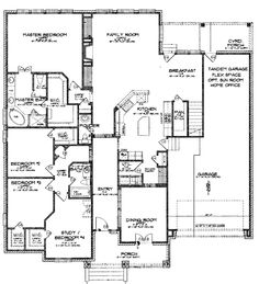 This floor plan absolutely rocks! And its a ranch instead of a two story...