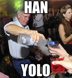 YES PLEASE I WOULD LIKE HARRISON FORD TO POUR ME A DRINK.