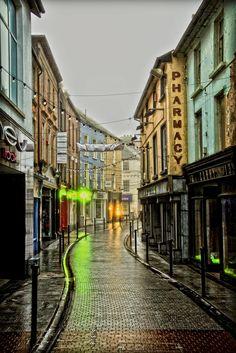 North Main Street by Ger Dwyer Wexford Town, Wexford Ireland, Main Street, Walks, Gem, Maine, Highlights, Buildings, Wallpaper
