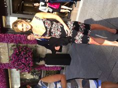 Bar Refaeli stepping out from the @Piaget boutique for #PiagetRoseDay #BarRefaeli #Paris