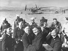 Nats in the Pacific: Group of Navy Nurses Arriving at Noumea