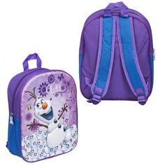 Frozen 3D Rugzak - Olaf (Paars) #disneyfrozen #olaf #kinderrugzak #kinderrugtas #3Drugzak Olaf, Spiderman, Batman, Disney Frozen, Minions, 3 D, Mickey Mouse, Backpacks, Spider Man