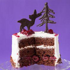 Schwarzwälder-Kirschtorte, vegan, Black Forest Cake