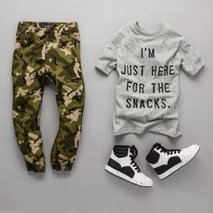 """I'm just here for the snacks"" 
