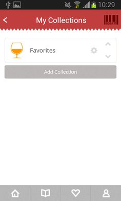 101CORKS app, my collections