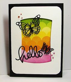 TLC532 Hello by donidoodle - Cards and Paper Crafts at Splitcoaststampers
