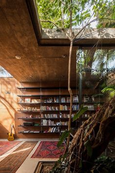 Home Library Architecture: 63 Smart & Creative Bookcase Designs – Bedroom Inspirations Architectural Design House Plans, Architectural Digest, Architectural Association, Architectural Engineering, Architectural Shingles, Architectural Styles, Library Architecture, Interior Architecture, Sustainable Architecture