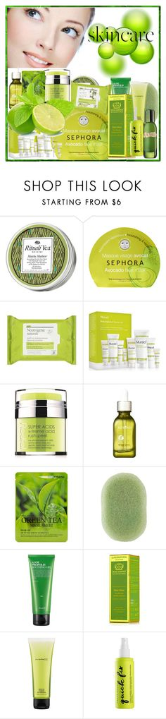 """Hello, Flawless: Skincare"" by terryandjim ❤ liked on Polyvore featuring beauty, Origins, Sephora Collection, Neutrogena, Murad, Rodial, Beyond, Forever 21, Meraki and Tata Harper"