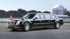 It isn't nicknamed 'The Beast' for nothing. President Barack Obama's 'Cadillac One' is a $1.5million... - Cadillac