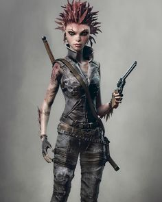 hat's more dangerous the weapons or the hair? --- The fierce and bold 'Art3mis', from 'Ready Player One' #asc #artemis #readyplayerone