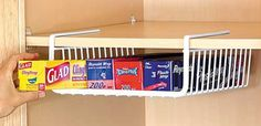 Great DIY pantry storage idea to get the most out of space, but also great for a craft stall storage solution ...