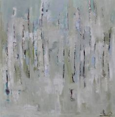 """Shrouded in Mist,"" by Sara Cameli, 48"" by 48"" on gallery wrap, $2000    Gregg Irby Fine Art Gallery"