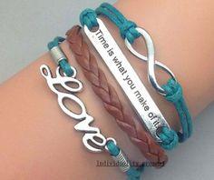 Infinity bracelets bracelets is eternal by Individualitypresent, $4.99