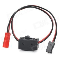 DIY JR-in JST-out Switch Cable for R/C Helicopter - Black + Red. JR input and JST output, 60-core red and black cable, length is 15cm, total length is 30cm.. Tags: #Hobbies #Toys #R/C #Toys #Other #Accessories