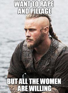 Contemplative Viking