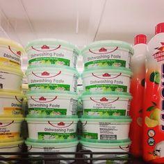 TOPVALU Dishwashing Paste 400g Lime