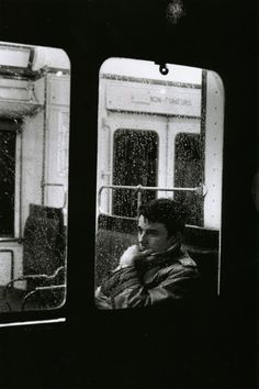 Slightly different to the other images within the board, this is an image of a man staring pensively outside of a bus window, which suits the sort of 'black and white, pensive' type of picture that I think will feature a lot on both this board, and also on the digipak and advert. I think this pose would be useful, in the same way that other pictures of a similar style would be in that it shows another side to 'Beyoncé' when in contrast to the confident, aggressive poses.