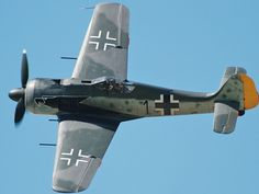FW190 Fighter Banking