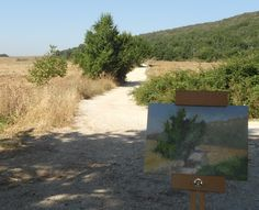 """Painting """"The Road back Home"""""""