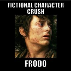 Fictional Character Crush: Frodo from Lord of the Rings