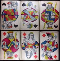Ludwig Wüst Partial but Rare German Playing Cards Alte Spielkarten Poker, Ludwig, German, Playing Cards, Baseball Cards, Games, Painting, Ebay, Collection