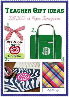 Teacher Gift Ideas - NEWEST blog post!