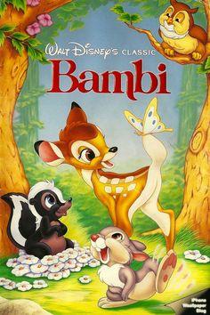 Clásico num. 5: BAMBI (1942)