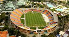 Soccer Stadium, Football Stadiums, Fc Barcelona, American Football, South America, Fair Grounds, Around The Worlds, Architecture, Outdoor Decor