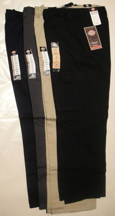 DICKIES Mens 23214 Loose Fit Cargo Pants Waist 46 48, Inseam: 30 32 NWT