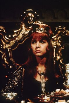 Jane Asher as Francesca in The Masque of The Red Death, Jane Asher, Vampire Weekend, Picture Blog, Famous Monsters, English Actresses, Iconic Women, The Most Beautiful Girl, Classic Films, Lady And Gentlemen