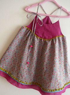 robe été Liberty croquet