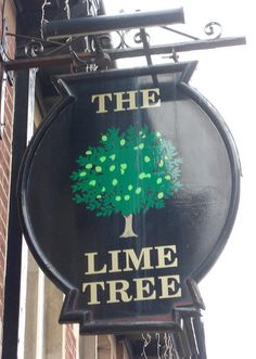 Paignton Lime Tree Pub sign South Devon | Flickr - Photo Sharing!