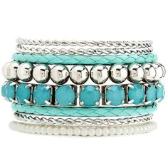 Braided PU Bracelet Set ($2.99) ❤ liked on Polyvore featuring jewelry, bracelets, accessories, mint, hinged bracelet, bracelets & bangles, charlotte russe jewelry, bracelet bangle and woven jewelry