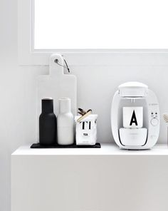 Waking up to a heavenly kitchen like this on Mother's Day? It's possible with our Menu Salt & Pepper grinders and Design Letters cups. www.whiteandco.com.au